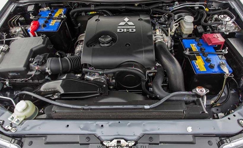 Ремонт двигателя Mitsubishi L200
