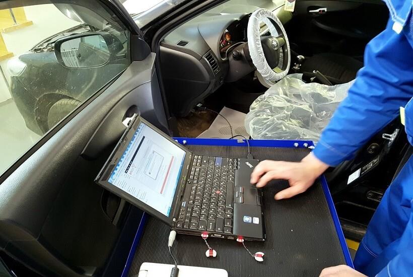 Диагностика Toyota Corolla