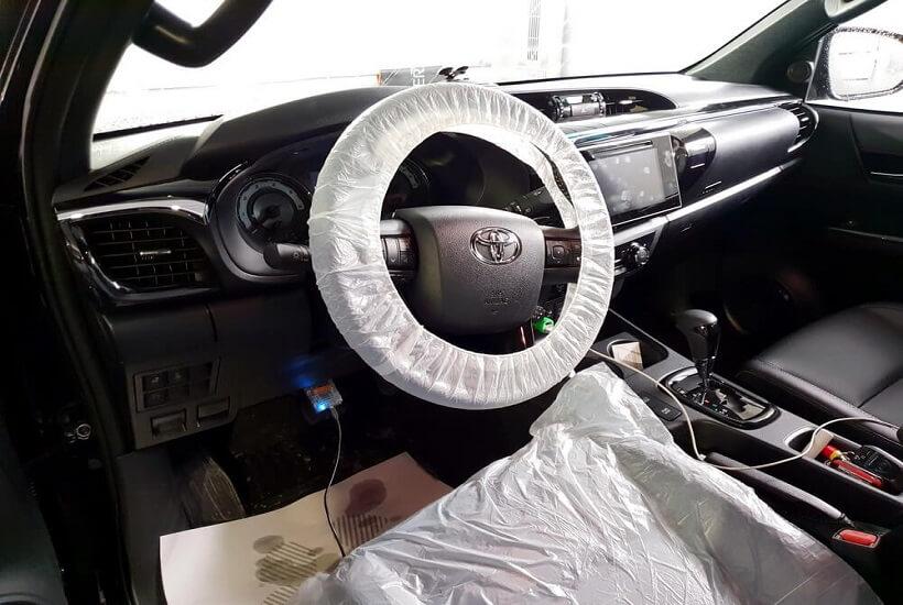 Диагностика Toyota Hilux