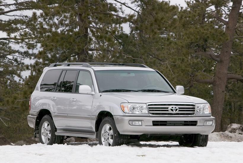 Диагностика Toyota Land Cruiser 100