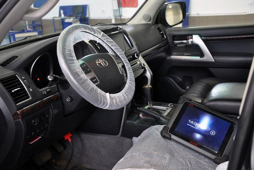 Диагностика Toyota Land Cruiser