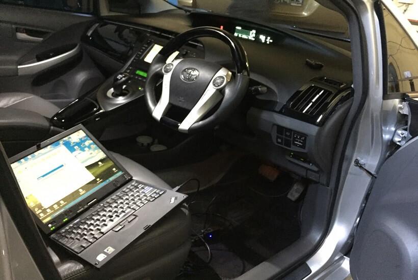 Диагностика Toyota Prius