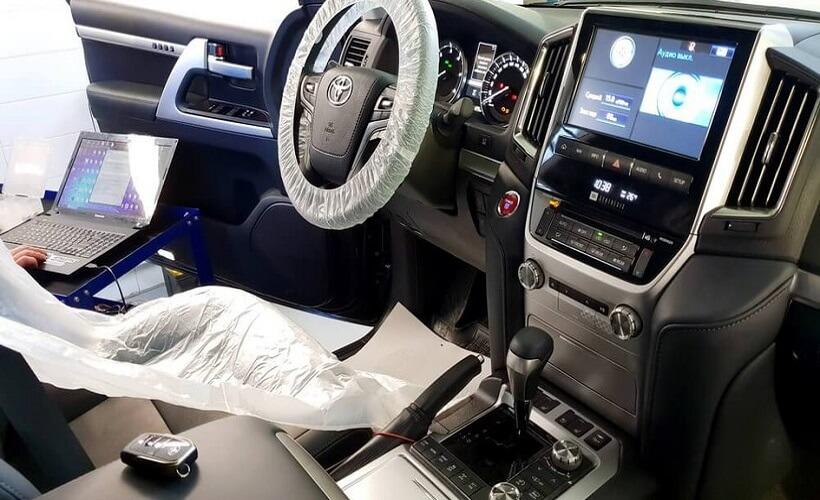 Диагностика Toyota Land Cruiser 200