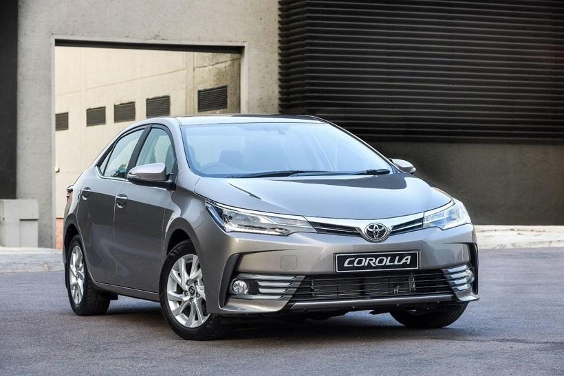 Кузовной ремонт Toyota Corolla