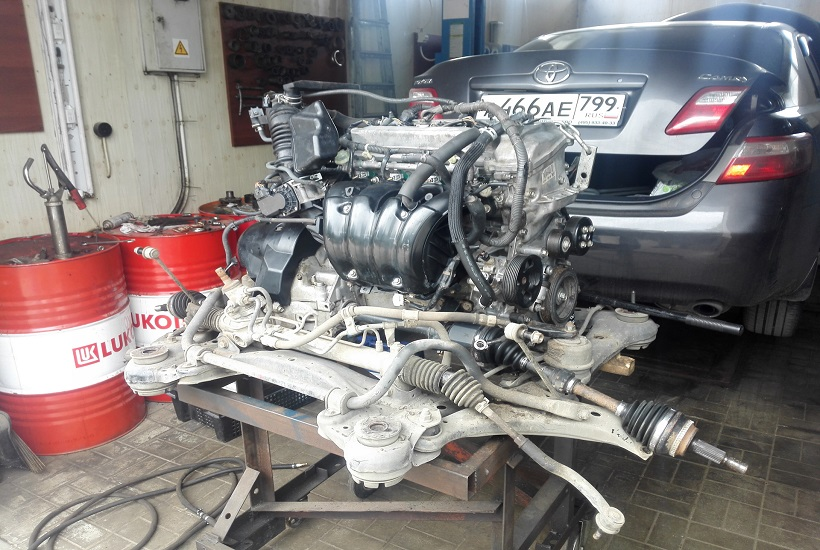 Ремонт двигателя Toyota Camry