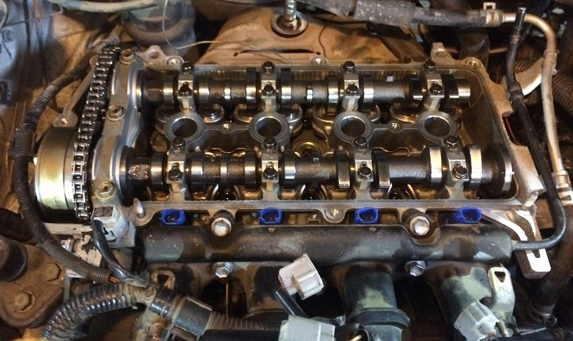 Ремонт двигателя Toyota Vitz