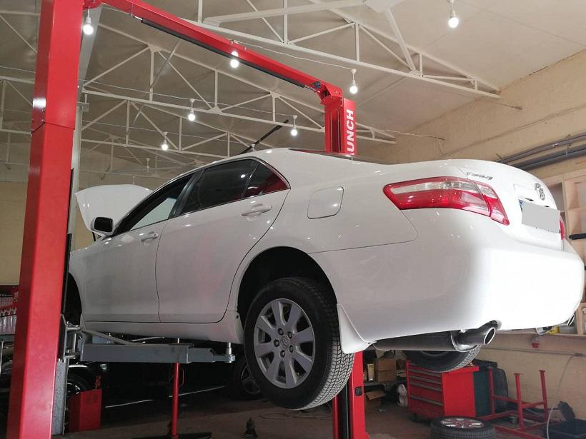 Техническое обслуживание Toyota Camry