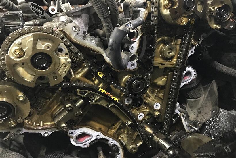 Замена цепи ГРМ Toyota Highlander