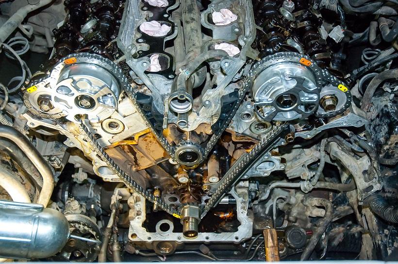 Замена цепи ГРМ Toyota Land Cruiser