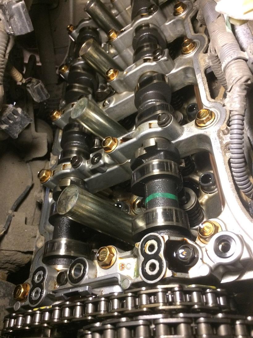 Замена цепи ГРМ Toyota Tundra