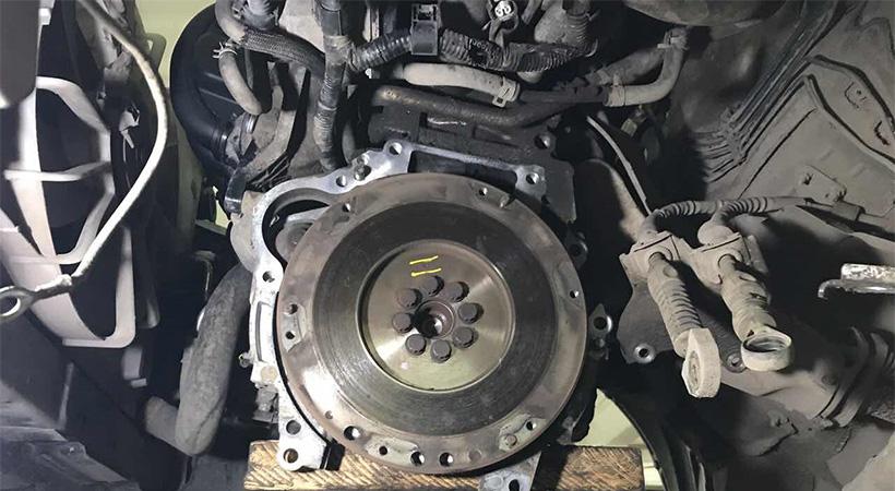 Замена сцепления Toyota Avensis
