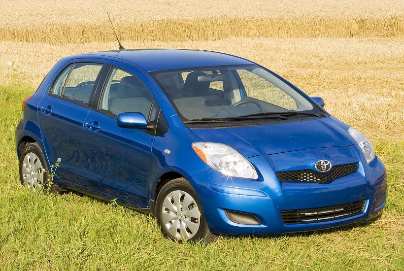 Замена тормозных дисков Toyota Yaris