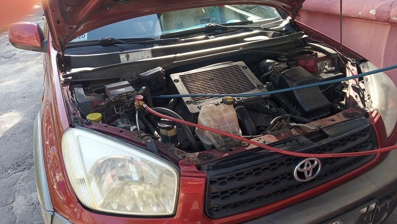 Заправка кондиционера Toyota RAV4